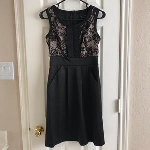 Max & Cleo Lace Cocktail Dress size 2